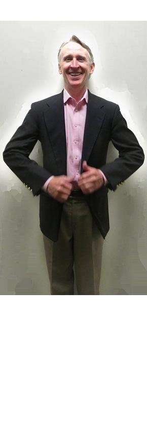 Man in sportcoat