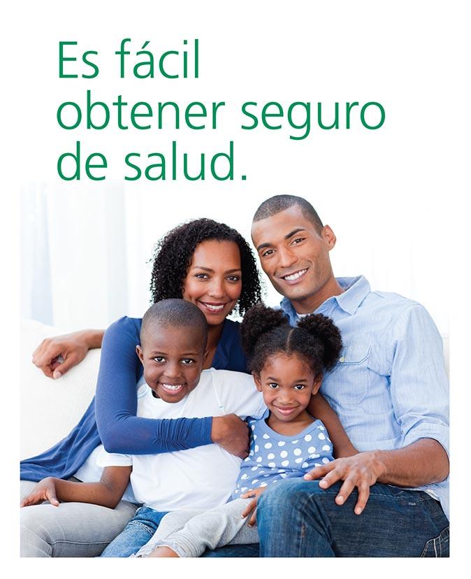Es fácil obtener seguro de salud. -- Haga clic en esta imagen o en el enlace inferior para más información.