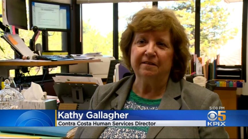 Video frame featuring EHSD Director Kathy Gallagher