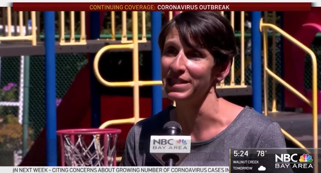 "Featured image for ""NBC Bay Area: County's Low-cost Child Care for Essential Workers"""